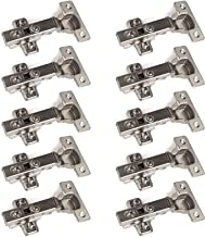 10 stuks SOTECH potscharnier T45, hoekscharnier met demper en kruisplaat, openingshoek tot 110°