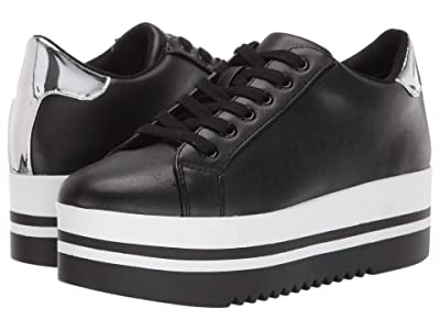 Steve Madden Alley Sneakers (Black) Women