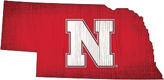 "GameDay Novelties Nebraska Cornhuskers 12"" Team Color Logo State"