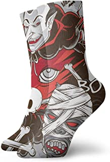 Hunter qiang, Calcetines deportivos para mujer y hombre, 30 cm