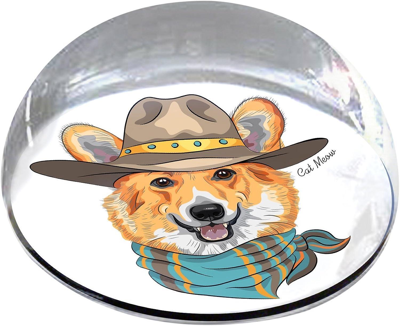 Forever Crystal Mr. Pembroke Welsh Corgi Pet Memorial Magnet