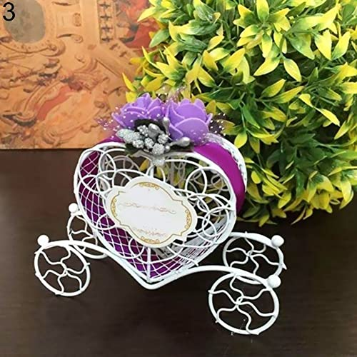 Heart Carriage Couch Sweets Chocolate Candy Box Wedding Party Favours Gift Box