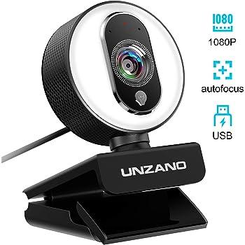 Unzano PC Streaming Webcam