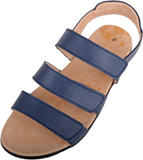 ABSOLUTE FOOTWEAR Womens Casual Leather EEE Wide Fitting Summer/Holiday Sandal/Shoes