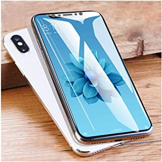 LZHANDA Protectores de Pantalla 3D Curved Film For Mi 8 Lite Pro Screen Protector Mi 9 Mi8 Se Full Cover Hydrogel Film with Tools Not Tempered Glass for Xiaomi Mi 8 Lite 1 Front and 1 Back