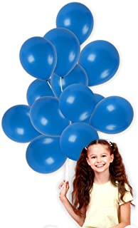 Treasures Gifted Shiny Royal Blue Balloons 72 Pack 12 Inch Latex Galaxy Nautical Gender Reveal Girl or Boy Party Supplies Bridal Baby Shower Birthday Congrats Grad Engagement Bulk Decorations