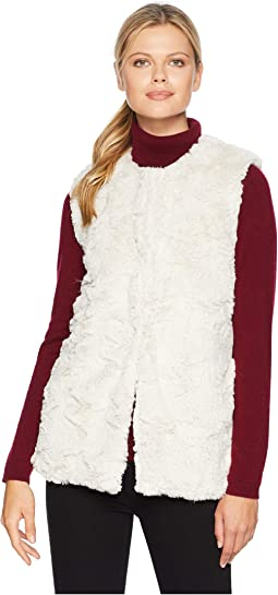 Antique White Faux Fur Chic and Cozy Vest