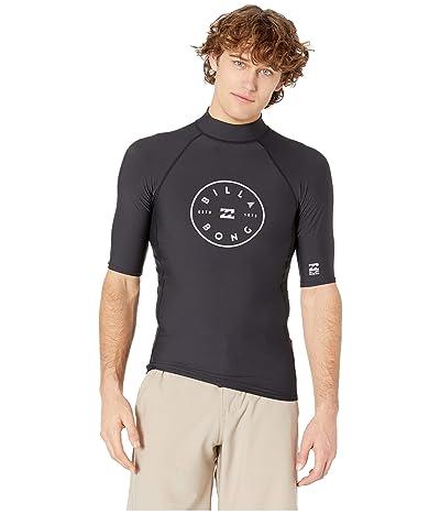 Billabong Rotor Performance Fit Short Sleeve (Black) Men