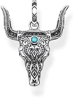 Thomas Sabo pendentif tête de taureau unisexe PE841-646-7