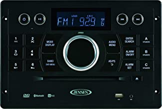 Jensen JWM6A DVD|USB|AUX|HDMI| Wallmount Stereo with App Control (jControl), Bluetooth A2DP/AVRCP Streaming Audio, Compati...