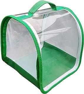 FLAMEER Klatka na owady i motyle, przepuszczająca światło, przenośna, profesjonalna terrarium zapewnia czyste