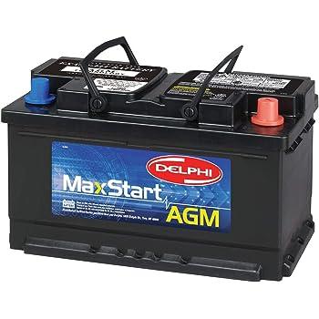 Delphi BU9094R MaxStart AGM Premium Automotive Battery, Group Size 94R (Reverse Terminal)