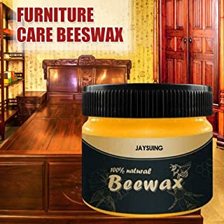 GraPefruiT Beeswax Cleaner 100g, Wood Polish and Care, Beeswax Cleaning for Wood Furniture Care, Home Protector Wax for Cutting Boards, Bamboo, Woods Surface (1 PCs)