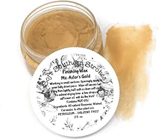 Gold Antiquing Wax for Furniture Art Crafts 2 oz