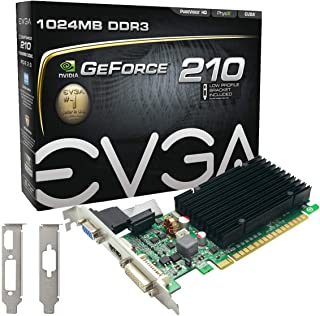 Evga 01G-P3-1313-KR - VGA Nvidia 210 Memoria de 1GB DDR3, Color Negro
