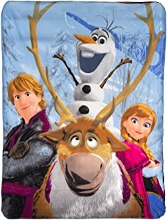 Disney Frozen, Out in The Cold Fleece Throw Blanket, 46