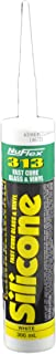 NuFlex 313 Fast Cure Silicone with Nozzle - Bright White