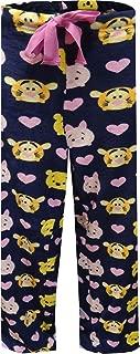 Winnie The Pooh Tsum Tsum Women's Super Minky Plush Fleece Sleep Pants