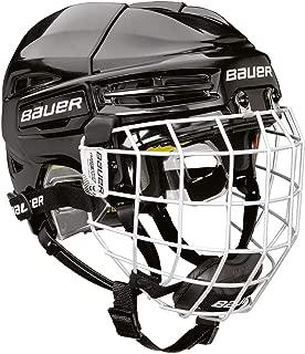 Bauer RE-AKT 100 Youth Hockey Helmet Combo Black