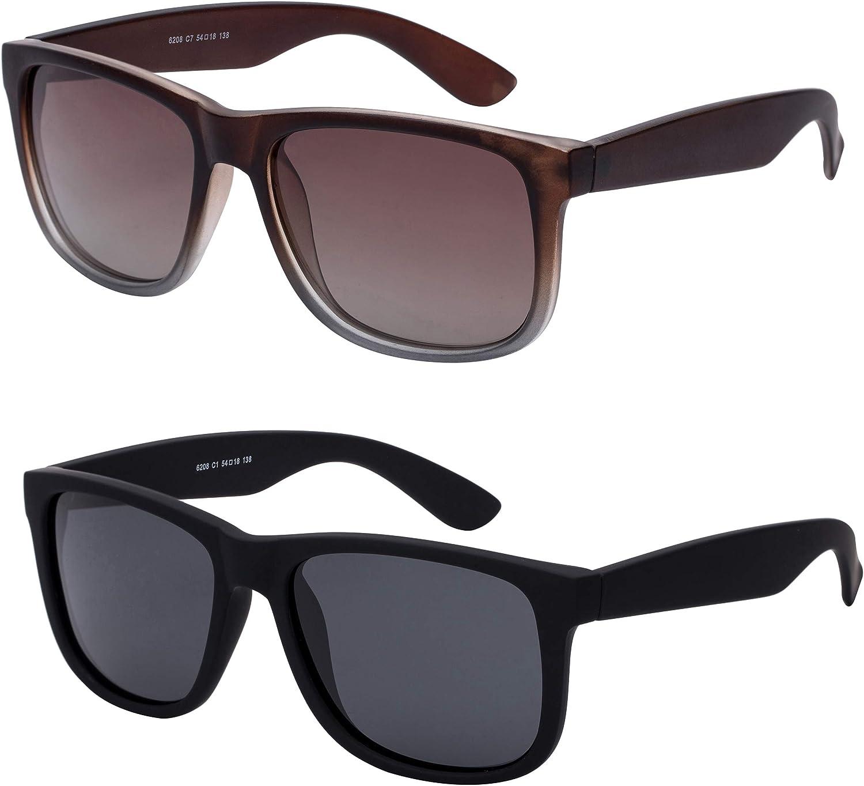 Noveltyz Polarized Sunglasses Max 52% OFF Sale SALE% OFF for Men Women Square Retro Shades