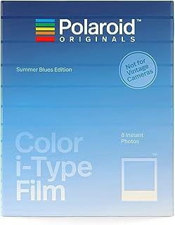 Polaroid Originals Color I - Type Film Summer Blues Edition Película Instantáneas 107 x 88 mm 8 Pieza(s) - Película Fotográfica Instantánea (8 Pieza(s)) Azul