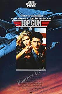 Posters USA Tom Cruise Top Gun Movie Poster GLOSSY FINISH - FIL178 (24