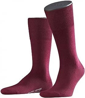 Falke Mens Barolo Airport Midcalf Socks - Burgundy