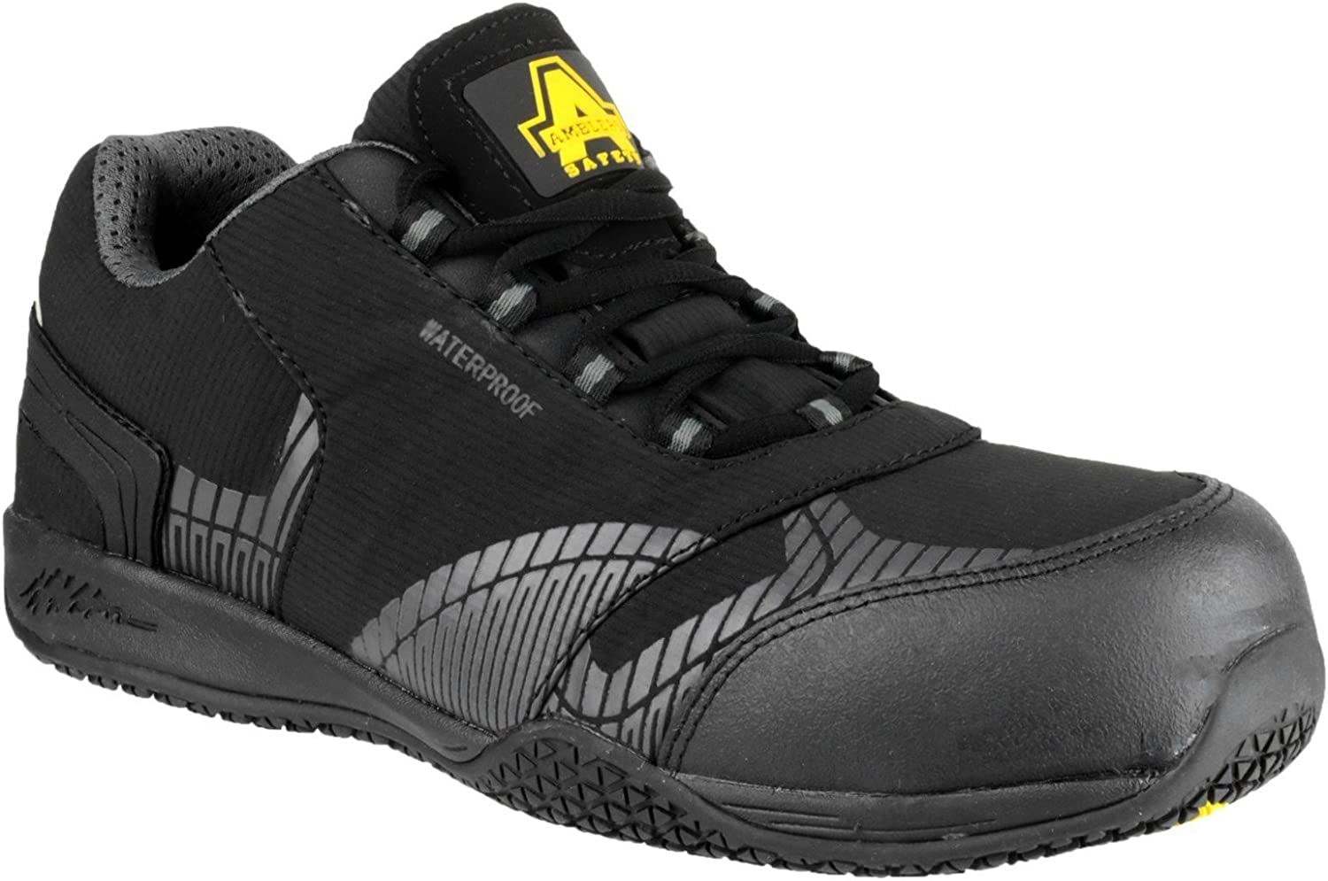 Amblers FS29C Mens Wasserdicht Metall Free Safety Trainer Trainer  Outlet-Store