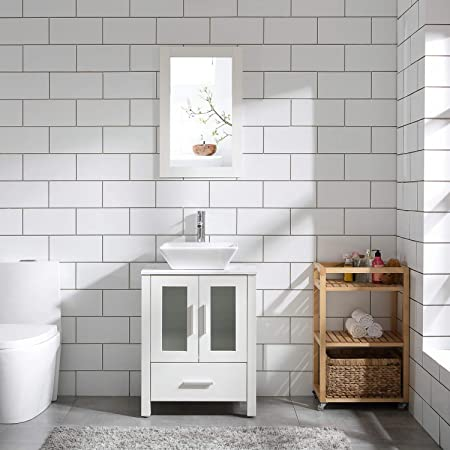 Wemoorland 24 Single Bathroom Vanity Set