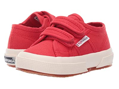 Superga Kids 2750 JVEL Classic (Toddler/Little Kid) (Red) Kids Shoes