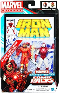 Silver Centurion vs. Mandarin - #225 Comic Book Action Figure 2-pack