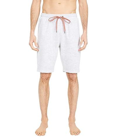 Tommy Bahama Double Knit Jacquard Interlock Jam Shorts (Light Grey) Men