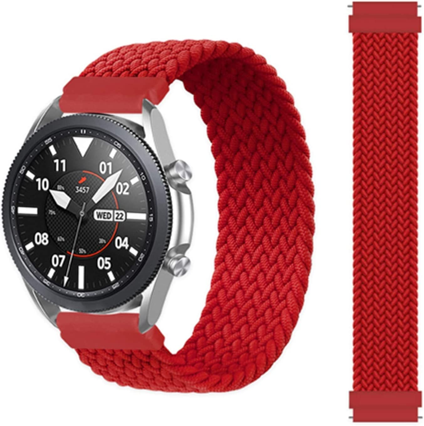 DFKai1run Nylon Strap San Diego Mall 22mm 20mm Watch Lowest price challenge for 46mm Band