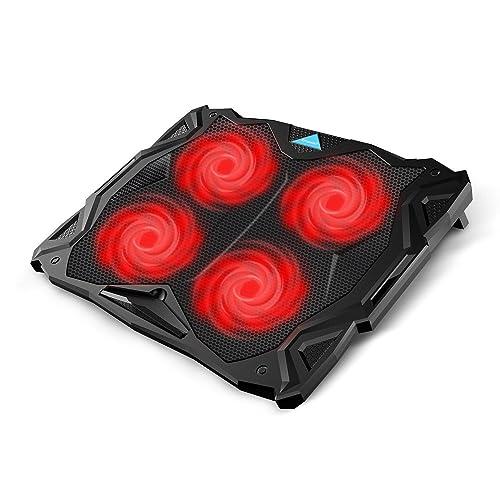Tenswall Bases de Refrigeración para Portátiles y Netbooks, refrigerador Ordenador Portátil de 12-17