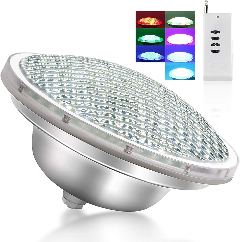 CXhome Submersible LED Lights 21W Many popular brands 12-24V PAR56 Regular discount RGB Pool U