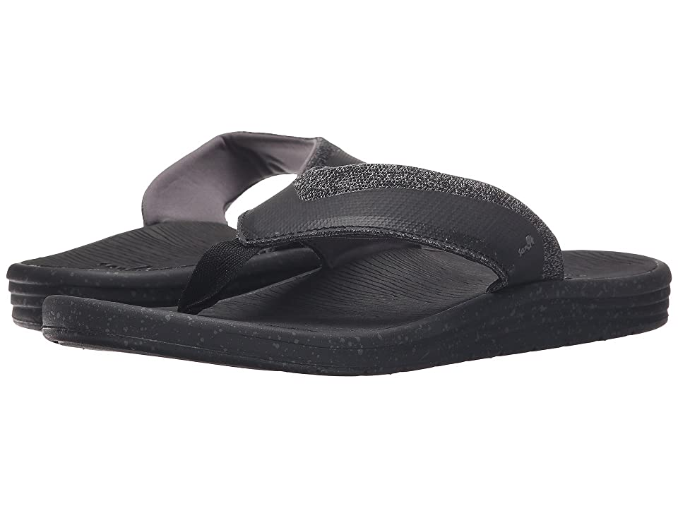 Sanuk Compass (Black/Charcoal) Men
