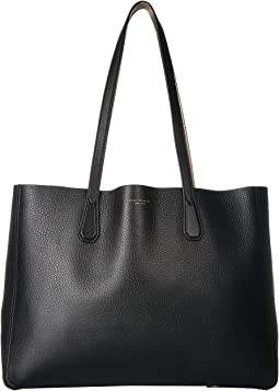 53968057fbc Tory Burch. Perry Triple-Compartment Tote.  348.00. Black Gold