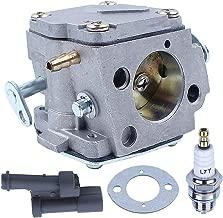 Adefol Carburetor Carb for Husqvarna 268 272 266 61 272XP Chainsaw Replace 503280316 with Adjusting Grommet Kit