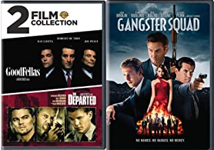 Scene Gangsters Martin Scorsese Triple Feature DVD Goodfellas + The Departed & Gangster Squad triple Double Feature
