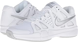 (ナイキ) NIKE レディーステニスシューズ?スニーカー?靴 Air Vapor Advantage White/Medium Grey/Metallic Silver 9 (26cm) B - Medium