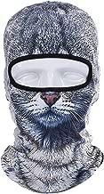 WTACTFUL 3D Animal Funny Balaclava Face Mask Cycling Motorcycle Skiing Snowboarding Music Festivals Halloween
