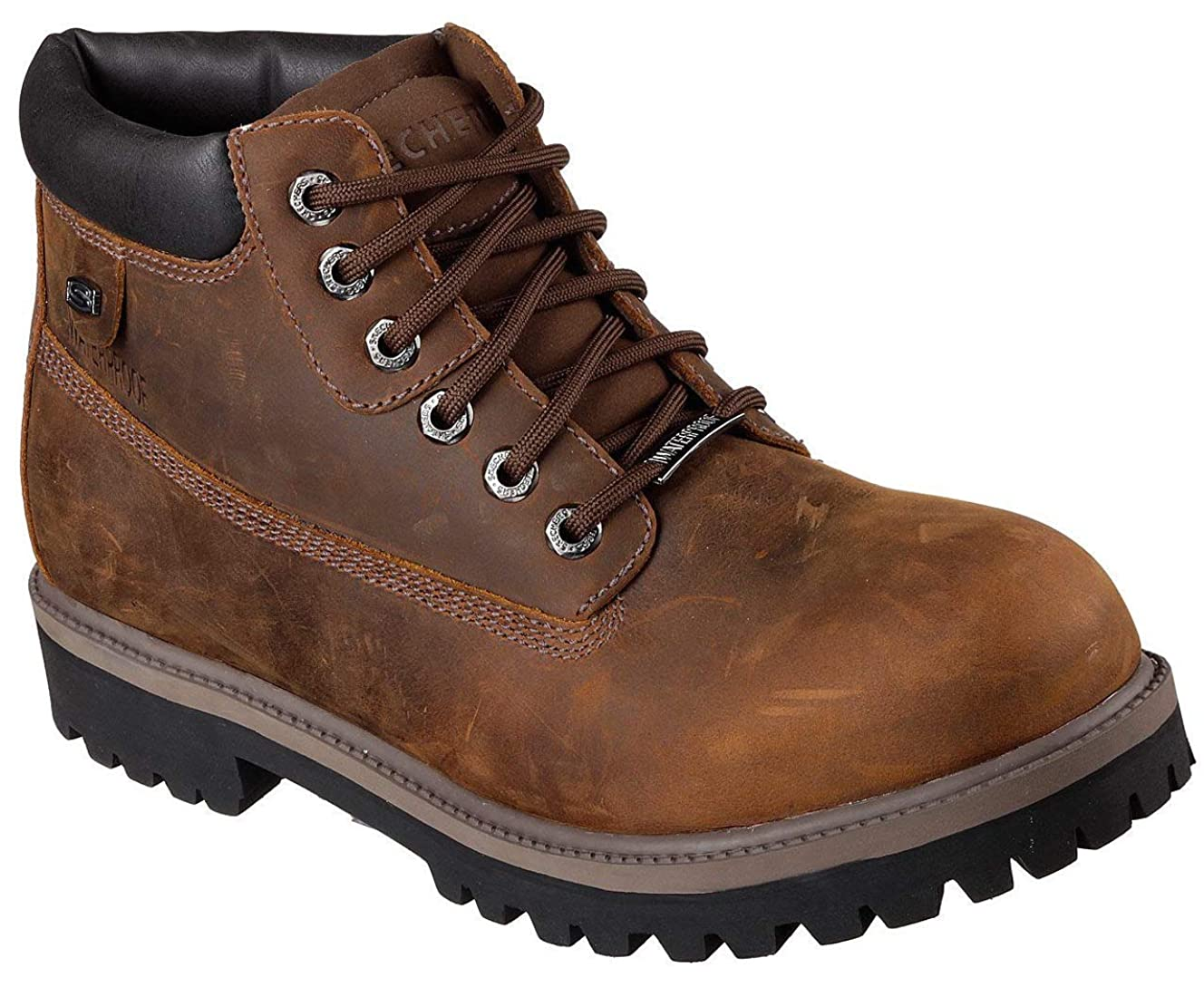 Skechers Men's Verdict Men's Boot,Dark Brown,11.5 EW