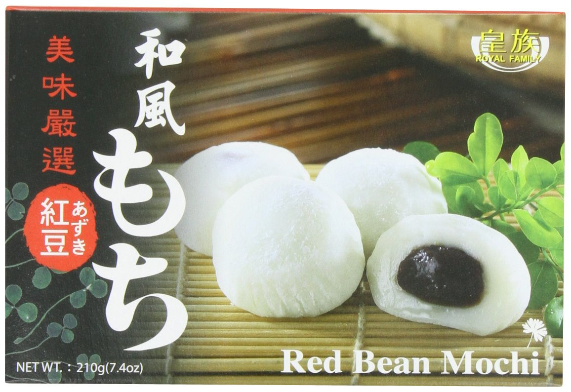 Royal Family Japanese Mochi Red 8 of 7.4-Ounce Long Beach Mall Special sale item Bean Pack