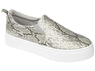 Journee Collection Comfort Foam Patrice Platform Sneaker (Snake) Women