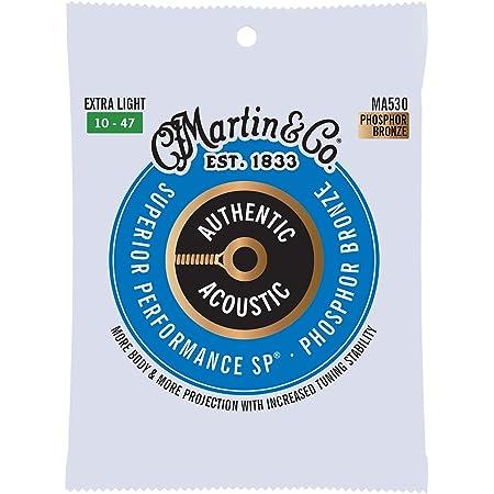 MARTIN アコースティックギター弦 AUTHENTIC ACOUSTIC Superior Performance MA530 Extra Light .010-.047