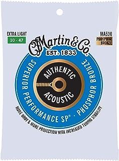 Martin Cuerdas para Guitarra acústica Strings, Extraligero,