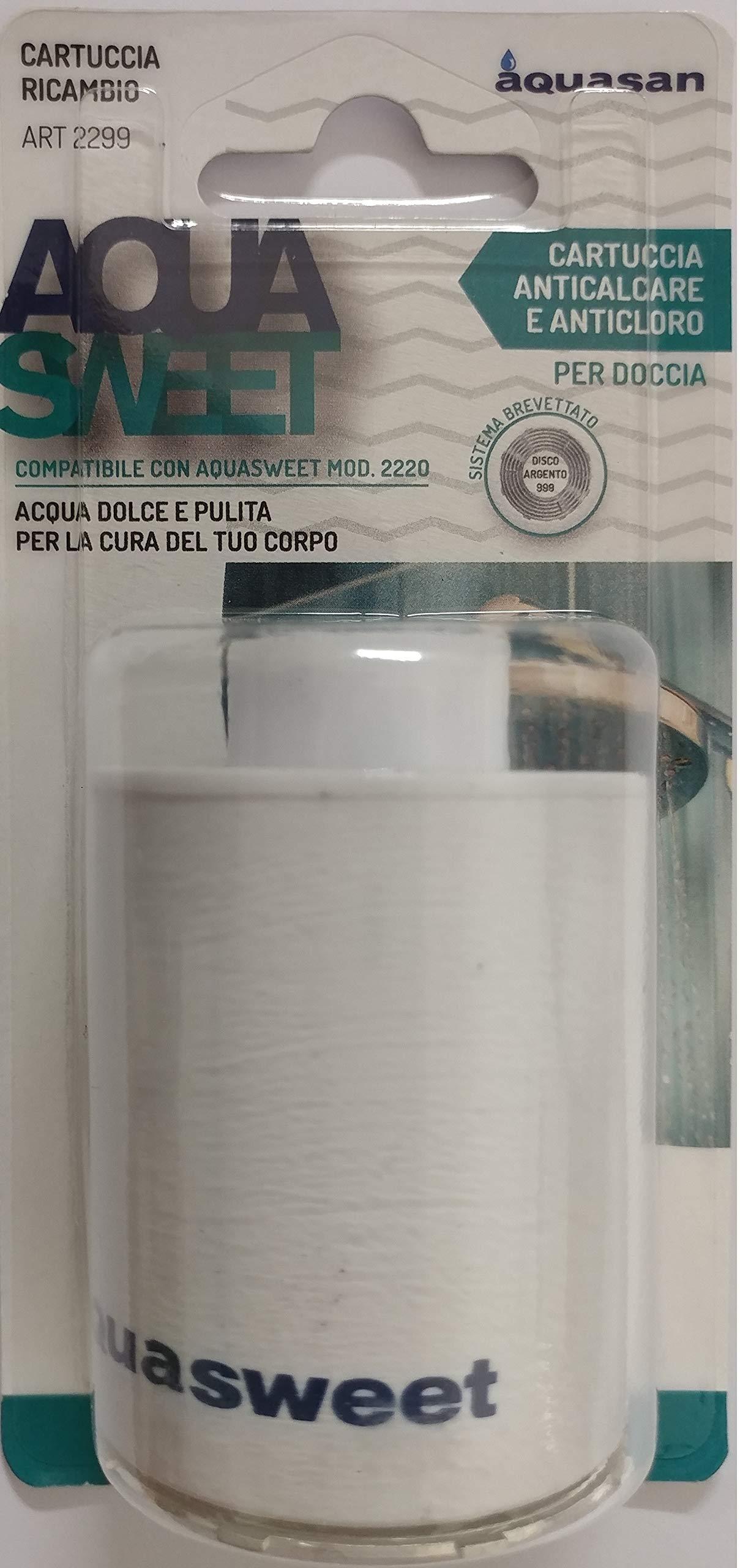 Aquasan 2299 - Cartucho de repuesto para filtro de ducha Aquasweet ...
