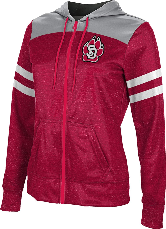 University of South Dakota Girls' Zipper Hoodie, School Spirit Sweatshirt (Gameday)