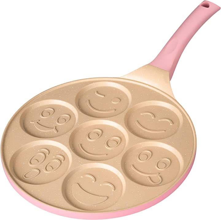 Padella pancake erreke adatta per tutti i tipi di cucina padelle antiaderente 26 cm padelle induzione B0855V3M4X
