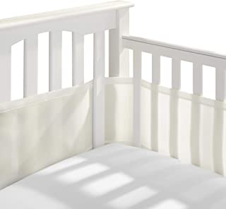 BreathableBaby Classic Breathable Mesh Crib Liner - Ecru